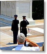 Taps At The Tomb Of The Unknown Metal Print