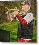 Taps For Troops Metal Print
