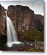 Taranaki Falls In Tongariro Np New Zealand Metal Print