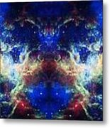 Tarantula Nebula Reflection Metal Print