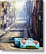 Targa Florio 1970  Porsche 908 Siffert Metal Print