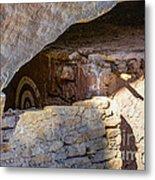 Target Bullseye Anasazi Ruin Metal Print