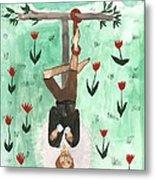 Tarot 12 The Hanged Man Metal Print
