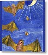 Tarot 18 The Moon Metal Print