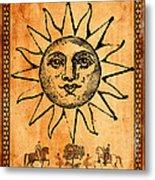 Tarot Card The Sun Metal Print by Cinema Photography