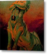 Tarot The Chariot Metal Print by Eric Bakke