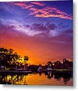 Tarpon Springs Glow Metal Print