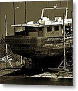Tarpon Springs Sponge Boat Metal Print