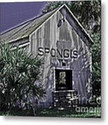 Tarpon Springs Warehouse II Metal Print