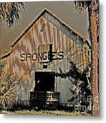 Tarpon Springs Warehouse Metal Print