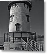 Tarrytown Lighthouse Bw Metal Print