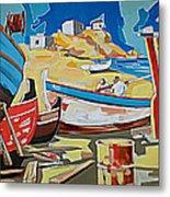 Tarsanas-boatyard Metal Print