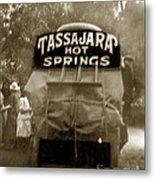 Tassajara Hot Springs Stage Monterey Co. California Circa 1910 Metal Print