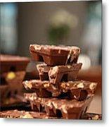Tasty Chocolate Metal Print