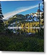 Tatoosh Peek Metal Print