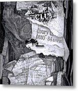 Tattered And Torn Metal Print