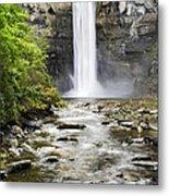 Taughannock Falls And Creek Metal Print