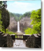 Taughannock Falls Metal Print by Jessica Jenney