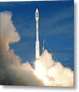 Taurus Rocket Launch Metal Print