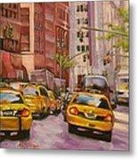 Taxi Taxi Metal Print