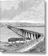 Tay Rail Bridge, 1879 Metal Print