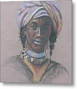 Tchad Warrior Metal Print