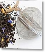 Tea Ball Infuser And Scented Tea Metal Print