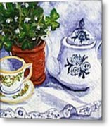 Tea For Nancy Metal Print