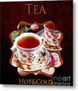 Tea Gallery Metal Print