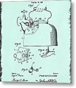 Tea Kettle Patent 1923 Metal Print