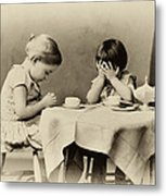 Tea Party Blessing Metal Print by Tony Grider