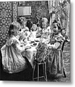 Tea Party, C1902 Metal Print
