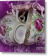 Tea Party Metal Print by The Stone Age