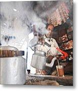 Tea Seller Metal Print