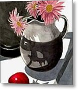 Teachers Apple Metal Print