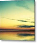 Teal Dream Metal Print