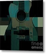 Teal We Play Again Metal Print
