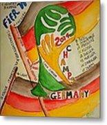 Team Germany Fifa Champions Metal Print