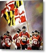 Team Maryland  Metal Print