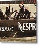 Team New Zealand Metal Print