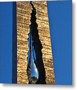 Teardrop  9 - 11 Memorial Bayonne N J  Metal Print