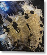 Tearing Up The Pieces Metal Print