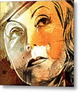 Tears In My Eyes Metal Print