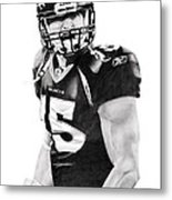 Tebow Metal Print by Don Medina