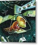 Technology Metal Print
