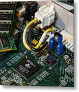 Technology - The Motherboard Metal Print