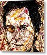 Ted Bundy Electric Metal Print