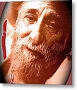 Ted Degrazia Portrait By Henry Redl Circa 1980-2013 Metal Print