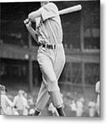 Ted Williams Swing Metal Print