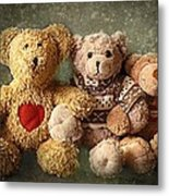 Teddies Metal Print